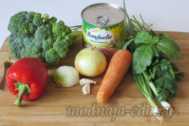 Minestrone-ingredienty