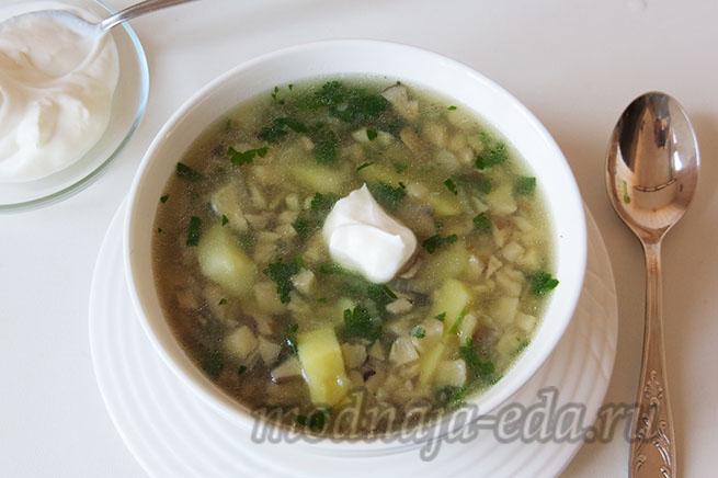 Грибной суп