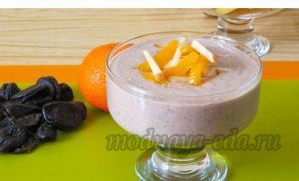 Диетический десерт с черносливом и творогом