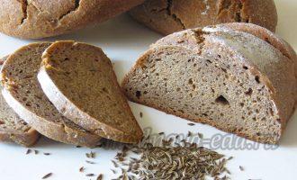 Ржаной хлеб на ржаной закваске
