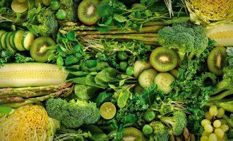 Самые полезные продукты - зелёные