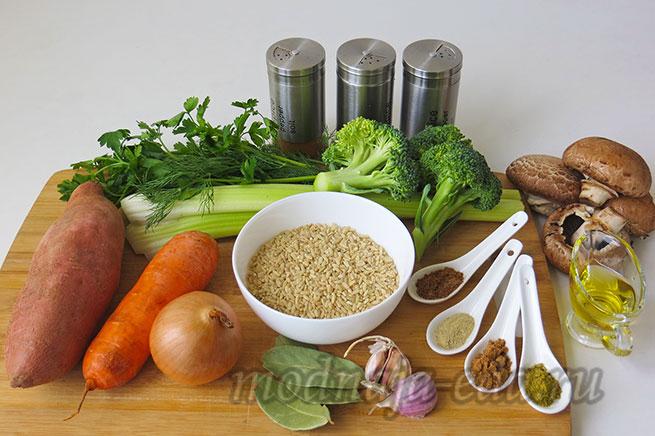 Рисовый суп с бататом, ингредиент