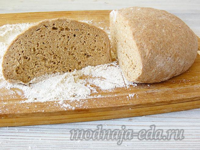 Тесто для хлеба; готовое тесто