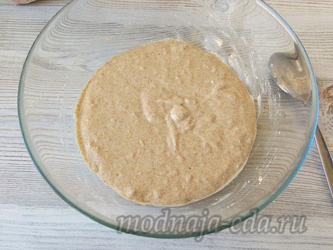 Тесто для хлеба: опара