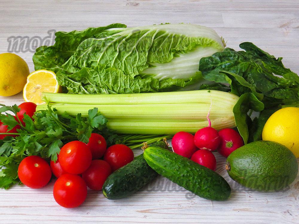 Ощелачивающие овощи и фрукты