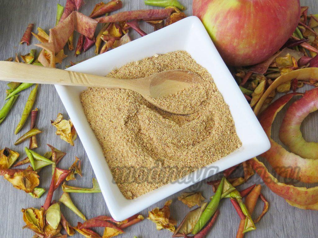 Порошок яблочной кожуры